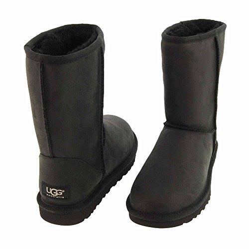 UGG Australia Classic Short Leather, Bottes Classiques Femme