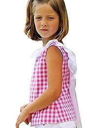 Vestidos niñas, Switchali Niños Bebé Niña Verano moda Tartán blusas bowknot camisa + pantalones cortos Trajes de ropa de fiesta para chica casual linda blusa barato
