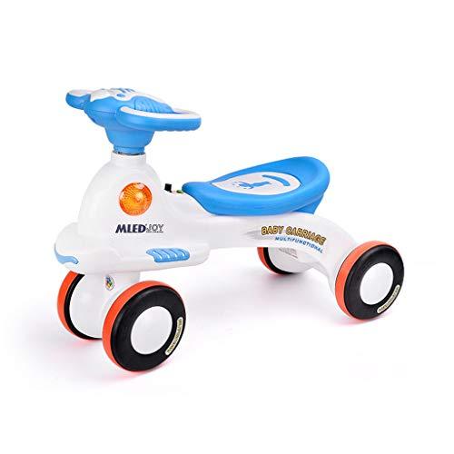 Unbekannt Kinderwagen Kinder-Roller Kinder Twist Car Yo Auto Spielzeugauto (Farbe : B)