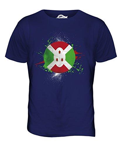 CandyMix Burundi Fußball Herren T Shirt Navy Blau