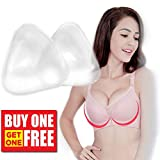 Songwin BH Insert Pads,Silikon BH Einlagen Push Up Bra Einlagen Brust Vergrößerung für Badeanzug und Bikini.(Clear)