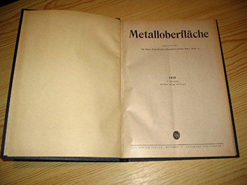 Metalloberfläche 1948