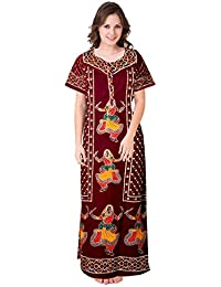 97fc33dade5 Amazon.in  Cotton - Nighties   Nightdresses   Sleep   Lounge Wear ...