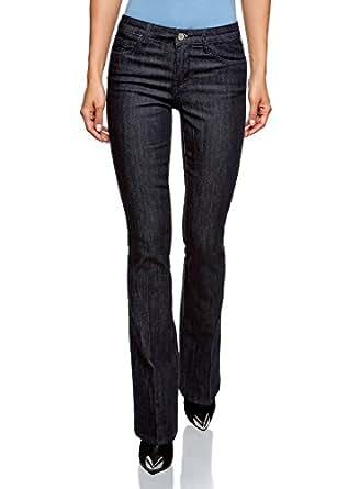 oodji Ultra Donna Jeans Basic Svasati e2a2f289672