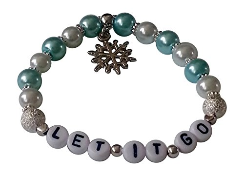 Disney FROZEN BRACELET LET IT GO 3-5 years Inspired by the movie blue white Wear with Frozen Fancy Dress costume Gifts At Dawn