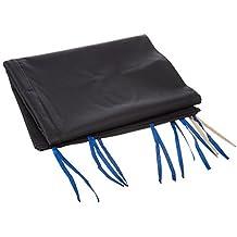 Cablematic - Lona lateral completa para carpa plegable de 250cm negra
