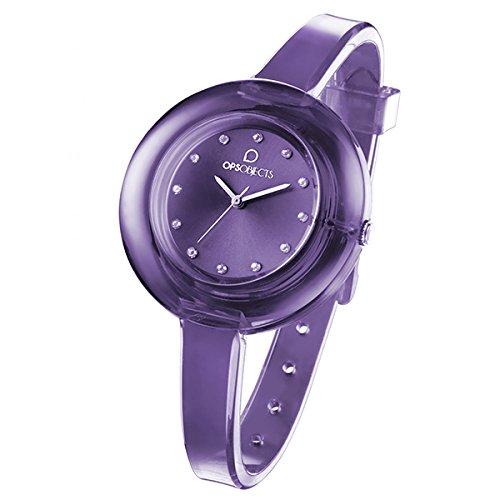 ORIGINAL OPS Reloj OPS!Nude Mujer Sólo el tiempo violeta - OPSPW-65