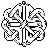 Arte Francobolli Francobolli, celtico motivo nodo, 1 pezzo