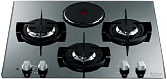 hotpoint ariston td 631 sixhaice plaque de cuisson mixte electrique et gaz int grable 60 cm inox. Black Bedroom Furniture Sets. Home Design Ideas