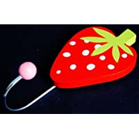 Gisela Graham - Strawberry Wooden Coat Hook Set of 2
