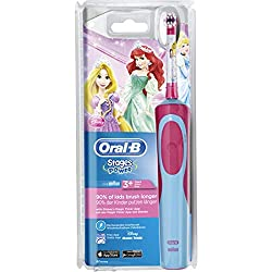 2 brosses /à dents Stages Power /« Cars /» incluses Brosse /à dents /électrique pour enfant Braun Oral-B Stages Power Kids Cls DB4.510.K A batterie