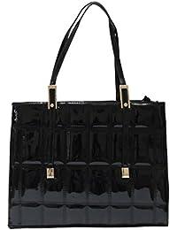 KionStyle Square Textured Women handbag