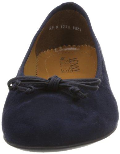Jenny Pisa - Ballerine da donna Blu (blau 02)