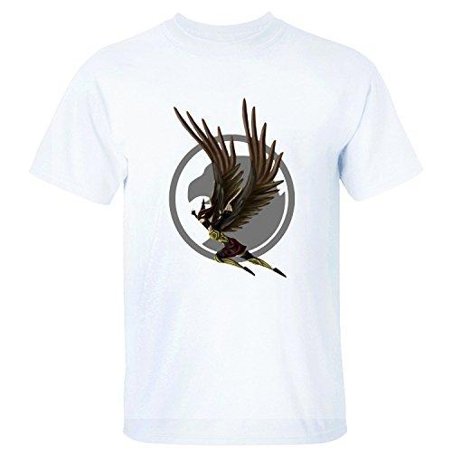 AdonisMartha Herren's Hawkgirl Superhero Soft T-Shirt Medium