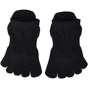 Damen 1 Paar ToeSox Voll Toe Organic Cotton Low Rise Netzs Yoga-Socken