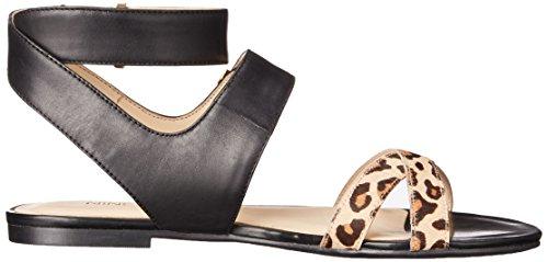 Nove in pelle occidentale Darcelle Dress Sandal Black/Natural Multi