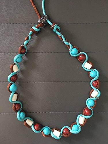 Em Keramik Armband Aus Emiko Pipes Und Para chute cord Für Mehr Wohlbefinden