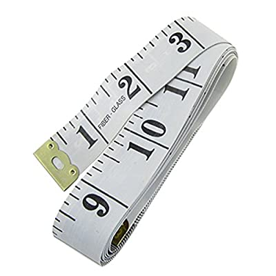"150cm 60"" Soft Tape Measure for Sewing Tailor Cloth Ruler : everything 5 pounds (or less!)"