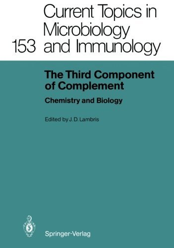 The Third Component of Complement: Chemistry and Biology (Current Topics in Microbiology and Immunology) (2012-07-31) par unknown