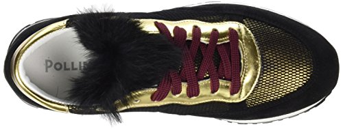 Pollini W.Sneakers, Scarpe da Ginnastica Basse Donna Multicolore(Multicolore 90A)