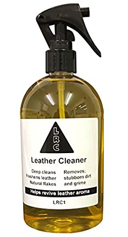 Deep Cleaning Leather Cleaner - For Car Seats Sofas Shoes Handbags Furniture Saddles Jackets and more - by Leather Repair Company - 250ml