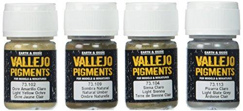 Vallejo 073191 Pigment-Set Schlamm und Sand -