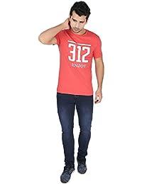 Undercolors Men's Cotton Pyjama Top (LM72I_Medium_Maroon)