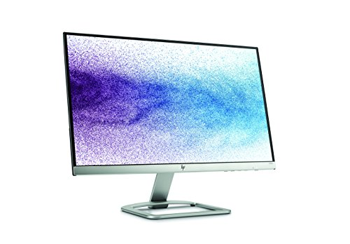 HP 22es 22 inch LED Monitor 1920 x 1080 Pixel 100 % HD FHD IPS 7 ms HDMI VGA Black and Silver Monitors