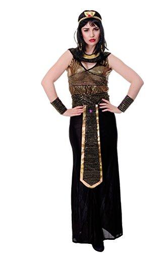 DRESS ME UP - Kostüm Damen Damenkostüm Hera Antike Griechin Rom Römerin Göttin Gr. S / M (Und Kostüme Götter Göttinnen)