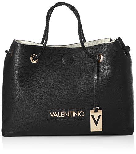 Mario Valentino Valentino by Damen Corsair Tote, Schwarz (Nero/Bianco), 12.5x30.5x40 cm