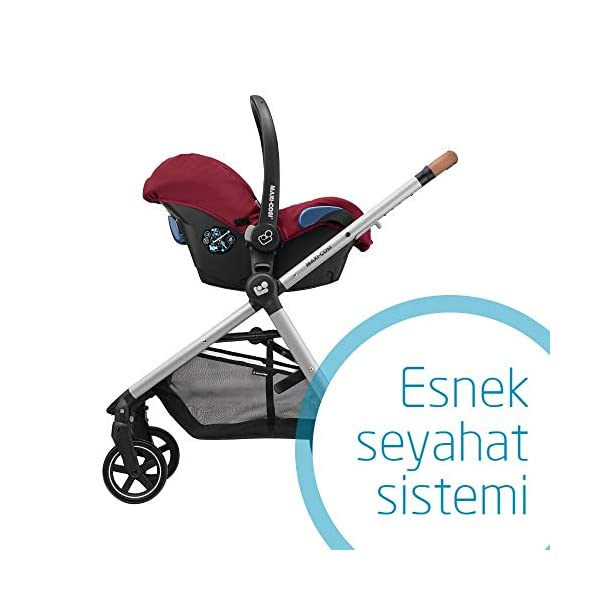 Maxi-Cosi Kinderautositz Citi Robin Red Maxi-Cosi Side protection system, guarantees optimal protection in the event of a side impact Lightweight, light weight and ergonomically shaped safety bar for use as carrying handle Practical travel system 5