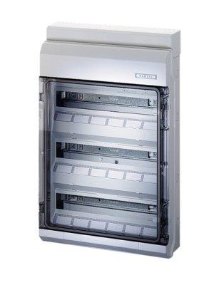 Hensel Automatengehäuse KV 9354 54TE 3x18x18mm IP65 Installationskleinverteiler 4012591620051