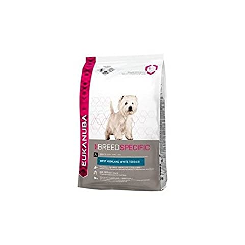 Eukanuba West Highland White Terrier Adult Dog Food (2.5kg) (Pack of 2)