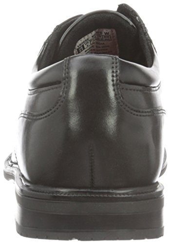 Rockport Herren Essential Details Ii Plain Toe Derby Schwarz (BLACK LEA)