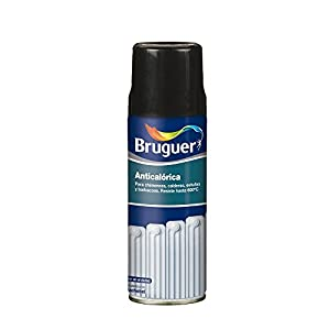 Bruguer 5197994 – Pintura anticalórica/calorífica en spray Bruguer color NEGRO 400 ml