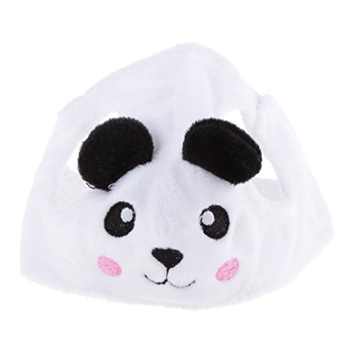 Cartoon Hut Für Haustier Hunde Katze Niedlichen Tier Muster Welpen Teddy Kostüm Kappe Mütze - Panda, (Niedlichen Tier Kostüme)