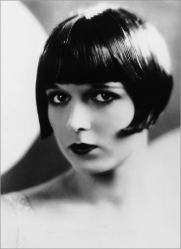 Alu Dibond 70 x 100 cm: Louise Brooks, ca. Ende der 1920er Jahre von Everett Collection