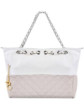 Damenhandtasche - All4you übergroße Tasche Schulter Handtasche mit Kette Riemen