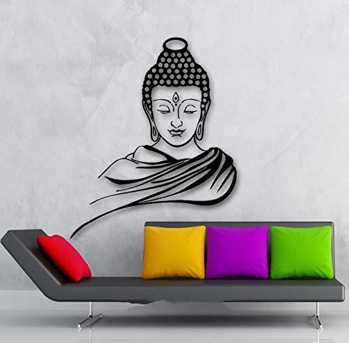 3D Poster Klassische Religion Buddhismus Buddha Meditation Wandaufkleber Aufkleber Vinyl Removable Wall Art Wohnkultur Muraux D648B