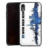 DeinDesign Silikon Hülle kompatibel mit Apple iPhone Xr Case Schutzhülle HSV Hamburger SV Fanartikel Merchandise
