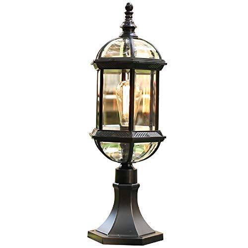 Pumpink Europäische Vintage Retro Zaun Säule Licht Patio Tor Licht Spalte Lampe Mittelmeer Im Freien Wasserdichte Villa Garten Landschaft Beleuchtung