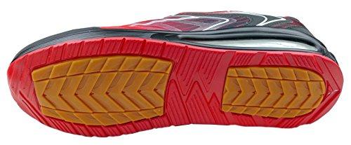 gibra Chaussures de Course Pour Homme rouge/noir
