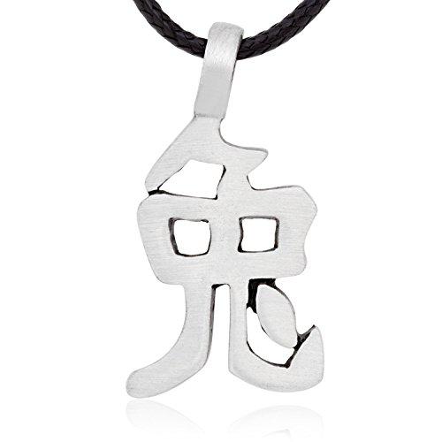 nesisches Sternzeichen Halskette Anhänger Kaninchen Charakter, feine Zinn Schmuck (Chinesischen Mann Kostüm Amazon)