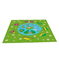 Be-Active Frog & Butterfly Lifecycle Playmat (150 x 100cm)