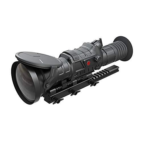 QNMM HD-Wärmebildkameras Nachtsicht Einzelrohr Infrarot-Nachtsichtteleskop Nachtsichtgerät mit Thermometer für Patrol-Sicherheit