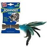 GiGwi Catnip 'Johnny Stick' w/natural feather