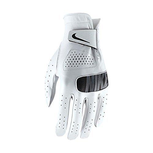 Nike Damen Tour Left Regular Golf Handschuhe, White/Black, S (Golf-handschuhe Personalisierte)