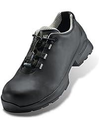 Uvex Calzado de Protección de Piel Para Hombre Negro Negro, Color Negro, Talla 45 EU