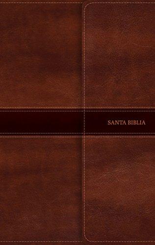NVI Biblia Ultrafina, Marrón Símil Piel Con Índice Y Solapa Con Imán
