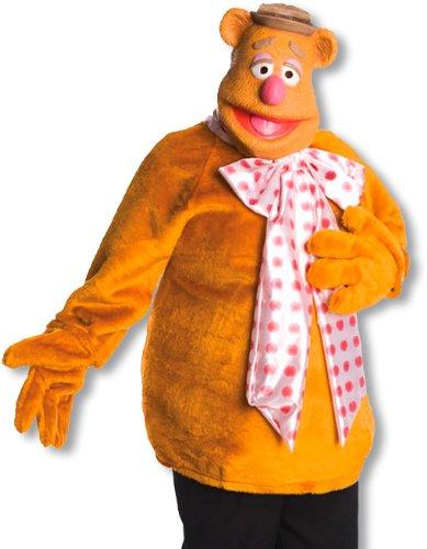 Fozzie Bär Muppets Kostüm (Kostüme Erwachsene Bär Fozzie)